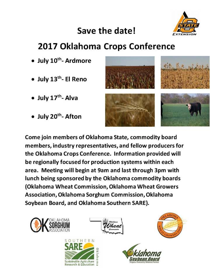 2017 OK Crops Conference - Save the date